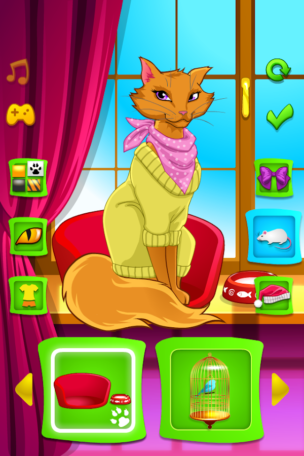 Pretty Cat Dress Up- screenshot
