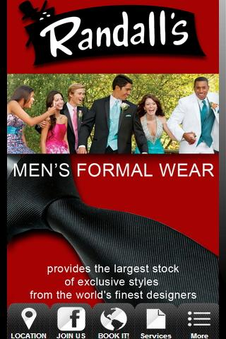Randall's Men's Formal Wear