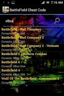 Cheat for Battlefield - screenshot thumbnail