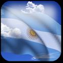 3D Argentina Flag + icon