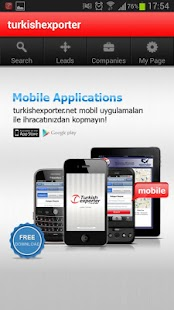 TurkishExporter Mobile
