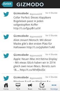 Gizmodo.de - screenshot thumbnail