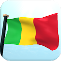 Mali Flag 3D Free Wallpaper icon