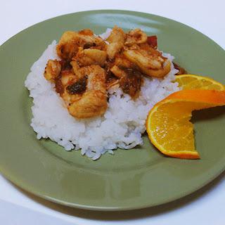 Caribbean Chicken.