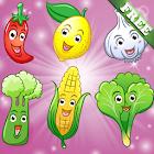 Obst und Gemüse für Kinder - Lernspiele icon