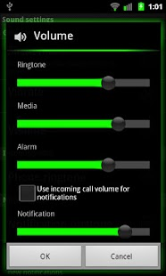 Galaxy Green for CM7 - screenshot thumbnail
