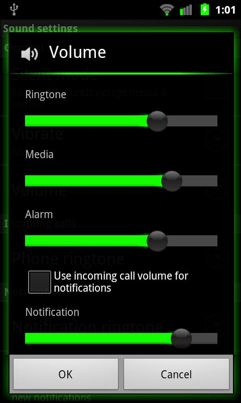Galaxy Green for CM7- screenshot