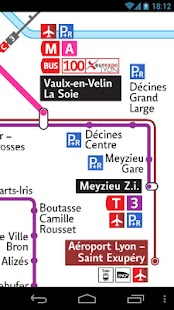 Lyon Metro & Tramway & Trolley - screenshot thumbnail