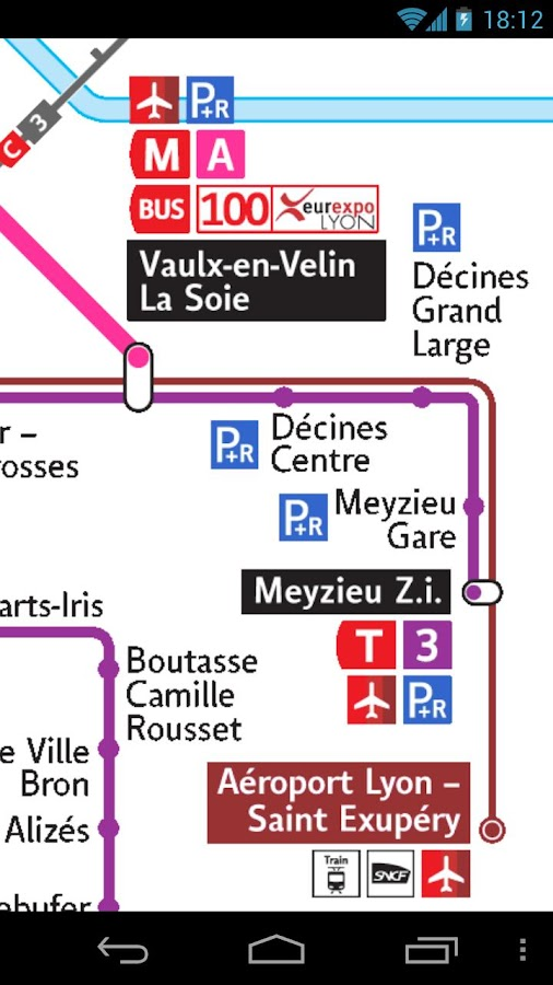 Lyon Metro & Tramway & Trolley - screenshot