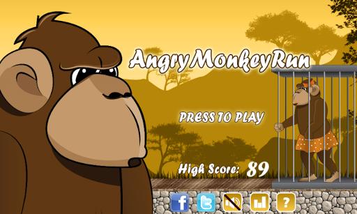 Angry Monkey Run