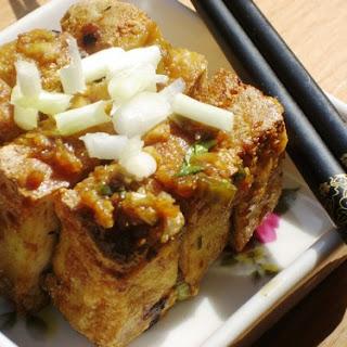 Asian Crispy Tofu Salad recipe – 90 calories