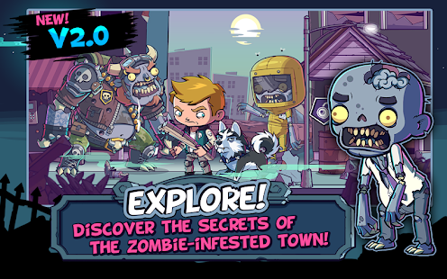 Screenshots of ZOMBIES ATE MY FRIENDS for iPhone
