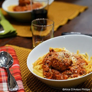 Mozzarella Italian Meatballs