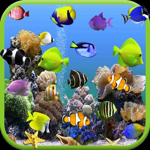 Aquarium Video Live Wallpaper LOGO-APP點子