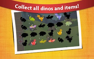 Screenshot of Kids Dino Adventure Game