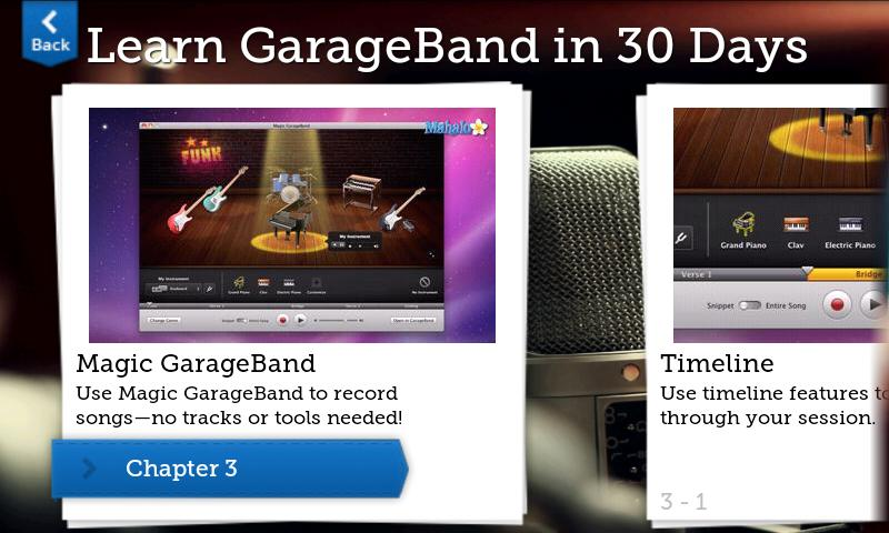 Learn GarageBand FREE - screenshot