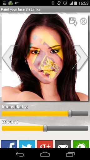 玩運動App|Paint your face Sri Lanka免費|APP試玩