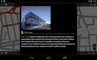 Screenshot of FindYourWay@Essex