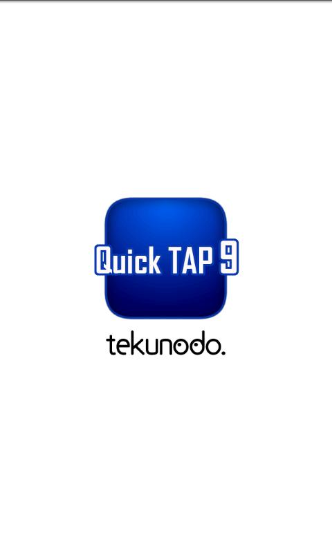 QuickTAP9- screenshot