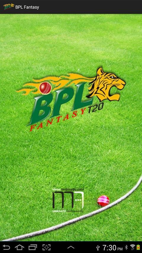 BPL T20 Fantasy Cricket  2013 - screenshot