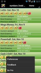 New York Lottery Droid Lite - screenshot thumbnail