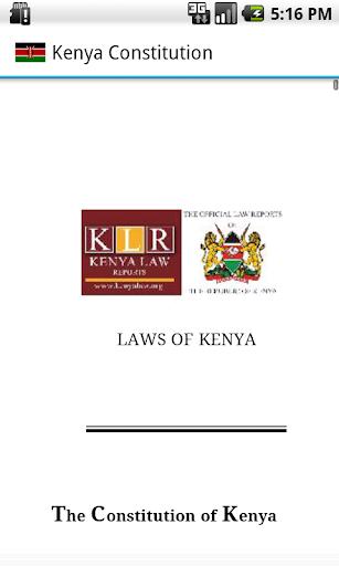Kenya Constitution