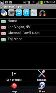 GPS - Google Map Helper screenshot 1