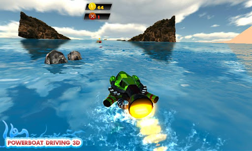 Powerboat Driving 3D