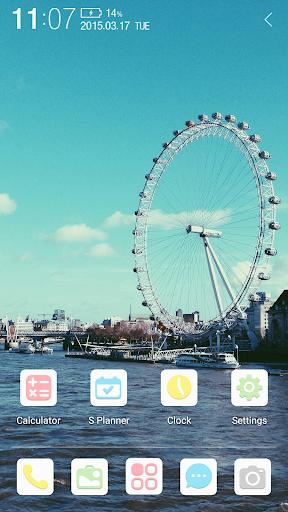 London Eye Atom Theme