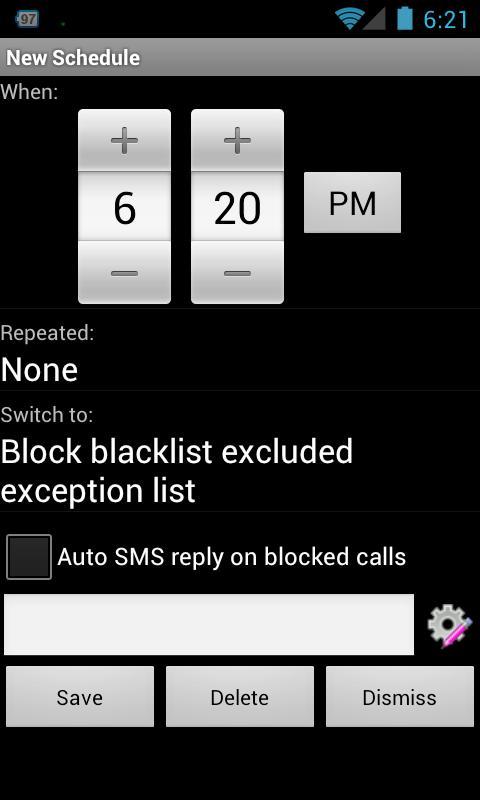 Blacklist ProKey - screenshot
