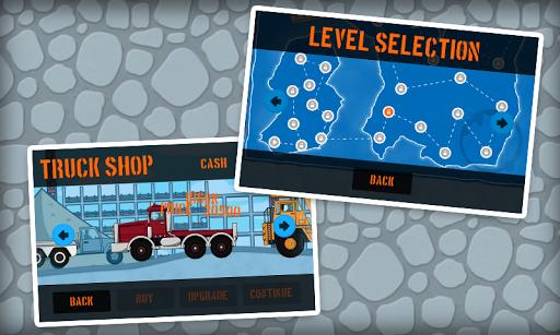 建設驅動卡車遊戲