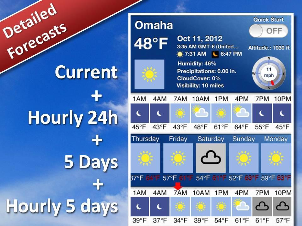 casino weather next 7 days