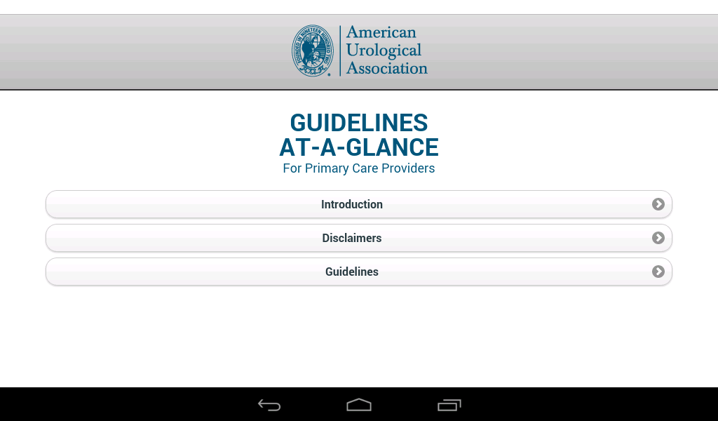 Urology Guidelines PrimaryCare- screenshot