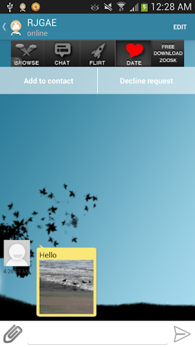 SimplyChat Android App Screenshot