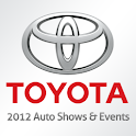 Toyota 2012 Auto Shows & Event logo