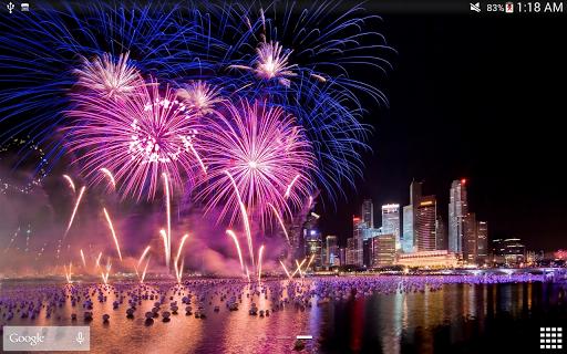 Fireworks Live Wallpaper 2018 1.2.1 screenshots 18