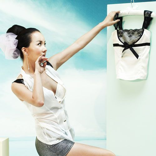 Uhm Jung Hwa (엄정화)' Underwear Sexy Photoshoot :: Dream Idol Photos