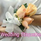 Wedding Etiquette  Tips