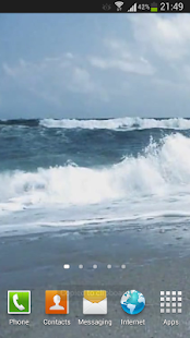Agitated Ocean Live Wallpaper- screenshot thumbnail