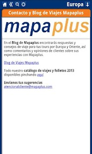 Europa Mapa Plus - screenshot thumbnail
