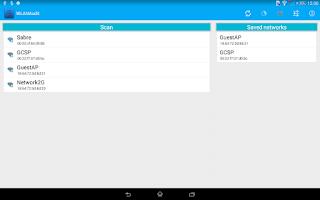 Screenshot of WLANAudit