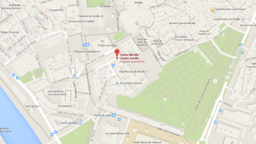 Segovias Suites: find us