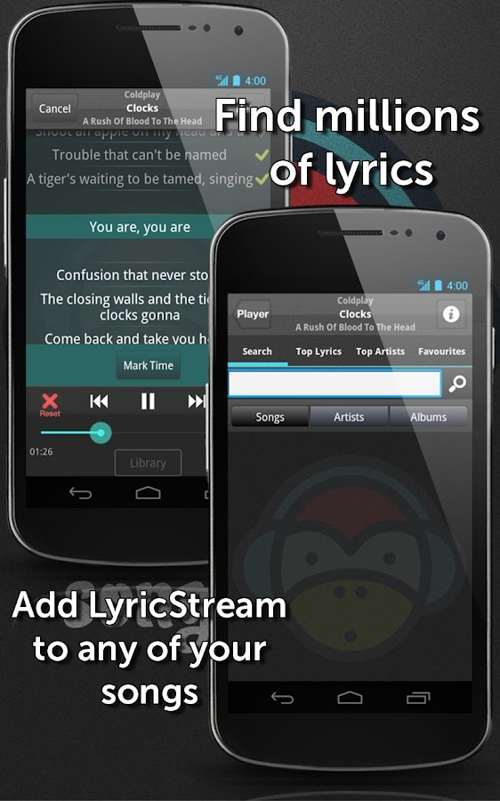 SongFreaks ♬ Player + Lyrics - screenshot