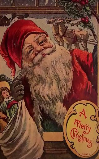 Santa Claus Vintage HD LWP