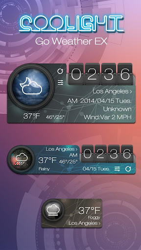 COOLIGHT GO WEATHER THEME