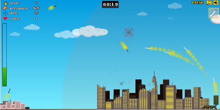 Iron Dome Interceptor - screenshot