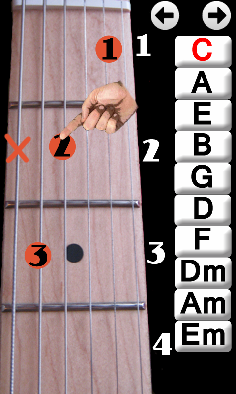Guitar guitar chords for beginners acoustic : Learn Guitar Chords - Android Apps on Google Play