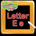 Letter E for LKG Kids Practice