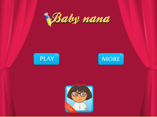 Baby Nana Sick Game