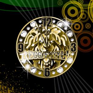 Golden Lion ClockWidget